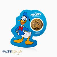UBS ANGPAO 24K DISNEY DONALD DUCK 0.2 GR