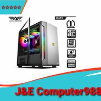 Armageddon Tessarax Core 1 MATX Gaming PC Case RGB Lightning Effect