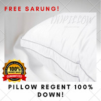 Bantal Bulu Angsa Asli , Type Regent(soft) 100% Down Uk 48cm x 74cm