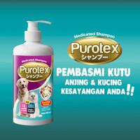 Shampoo Kucing Anjing PUROTEX - Anti Flea & Tick - 500ML