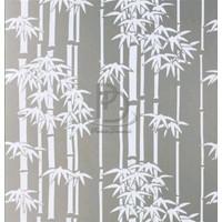 Sticker / Stiker Kaca jendela/pintu / Sandblast Sunblast motif Bambu