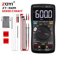 ZOYI ZT102A Upgrade Auto Multimeter Digital Avometer Multitester Ori