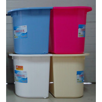 PINK FANTA Bak Mandi Bak Air Bentuk Sudut Bahan PVC