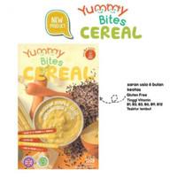 Yummy Bites Cereal Pumpkin Carrot Corn With Chesse makanan bubur bayi