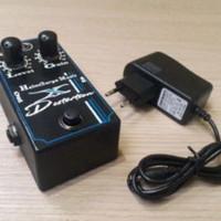efek gitar murah + adaptor suara mantap - Hitam