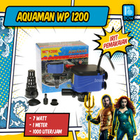 Pompa Air Celup Aquarium Aquascape Akuarium AQUAMAN WP 1200 7 Watt