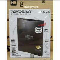 Antena TV Luar / Dalam Indoor/Outdoor Digital/Analog Toyosaki AIO 220