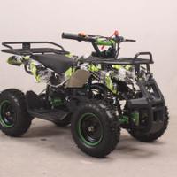 MOTOR ATV HUNTER 2TAK 50CC GAS TANGAN ~MAINAN MOTOR ANAK