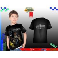 Kaos Baju Anak LITTLE NIGHTMARE 5 3D Fullprinting Terbaru dan Termurah