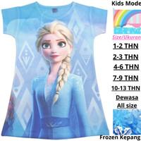 Dress Anak Perempuan Dres Anak Gaun pesta ulang tahun Baju Anak Frozen