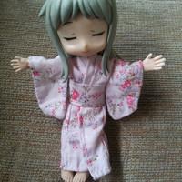 Outfit baju yukata kimono obitsu 11 cm figma bodykun bjd tiny