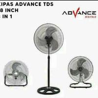 kipas angin advance type TDS-18 Multifungsi 3 in 1