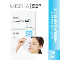 MISSHA MASCURE WHITENING SOLUTION SHEET MASK [GLUTATHIONE] - GUAIAZULENE