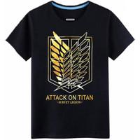 Kaos Baju Combed 3 Distro SCOUTiNG LEGiON polos custom attack on titan