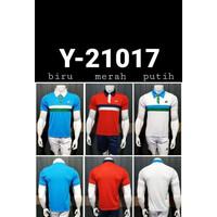 BAJU KAOS KERAH BADMINTON YONEX 21017 IMPORT GO