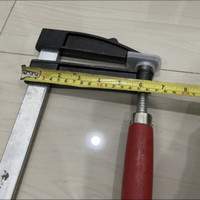 Bais papan F 80cm catok kayu F klem F 800 clamp kayu f jepit papan
