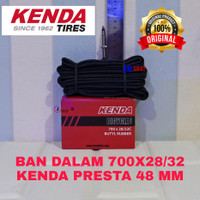 BAN DALAM SEPEDA 700 X 28 30 32 C PRESTA F/V 48 MM 700X28 700X32
