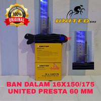 BAN DALAM SEPEDA 16 X 1.50 150 1.75 175 AV FV PRESTA 36 48 51 60 MM