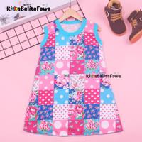 Daster Yukensi uk 3-5 th / Dress Anak Perempuan Bahan Kaos Baju Harian