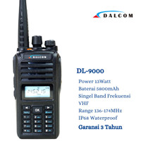 HT DALCOM IC-V90 IP68 VHF HT BAOFENG UV5R UV5RA UV5RE UV5RC UV6R A58 - VHF 136-174 MHz