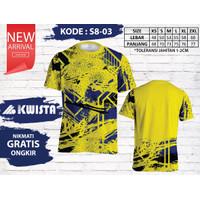 Kwista Kaos Badminton S8-03 / Kwista Kaos Bulutangkis S8-03