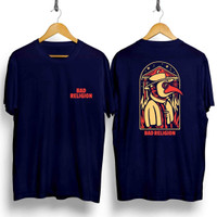 Kaos distro pria JF Bad Religion DB T-shirt pria Baju pria Atasan Pria
