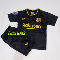 Bisa COD/Stelan baju bola anak-anak Barca/termurah/Jersey terbaru