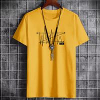 CJ7QS-(COD)-Pakaian Kaos Pria Baju Nicky-Sign-Sweater Kaos-Baby Terry