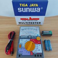 Multi Tester Avometer Analog Sunwa Dos Biru MF 124 Bkn Sanwa Sunma