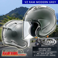 Arai VZ Ram Half Face Modern Grey Arai Japan SNI not Ram4 Ram5