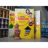 Dancow FortiGro 800gram Instant, full cream, & cokelat