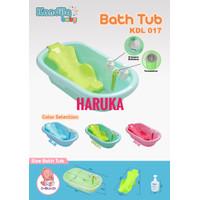 KANDILA TEMPERATURE BABY BATH TUB SET - BAK MANDI BAYI - UNIK - Biru