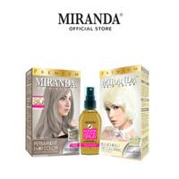 Miranda Paket Rambut (Abu-abu) Ash Blonde