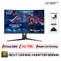 "ASUS ROG Strix XG32VC HDR Gaming Monitor 31.5"" WQHD, 1ms, 170Hz"