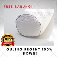 Guling Bulu Angsa Asli, Type Regent 100%down (SOFT), uk 37cm x 92cm