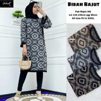 Baju Atasan Wanita Blouse Muslim New Bibah Rajut Tunik ,