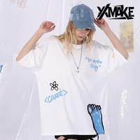 XXMAKE XXC172 Kaos Oversize Korea Japan Pria/Wanita T-shirt -COD
