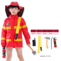 baju profesi anak import fireman pemadam kebakaran PI13