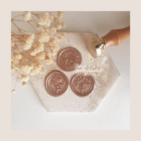 [The Artistry] Wax Seal Coin (BRONZE)