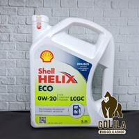 Oli Mesin Shell Helix ECO 0W-20 3.5 Liter (3.5L) LCGC