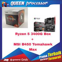 Processor AMD Ryzen 5 3400G + MSI B450 Tomahawk MAX