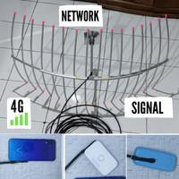 ANTENA 4G 3G penguat sinyal hp modem mifi 10 M yagi grid induksi