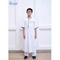 Baju Koko Anak Laki-Laki / Jubah Gamis Anak D'IZZUD Klasik Modif