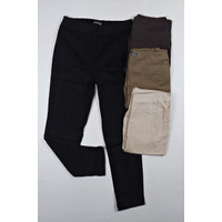 St yves celana panjang baggy pant cewek wanita dewasa kain tebal karet