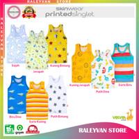 Velvet Junior Kaos Dalam Singlet Motif Baju Kutung Anak 3 - 36 Bulan