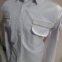 Kemeja PDH Tactical Velcro Bordir [FREE DESIGN]