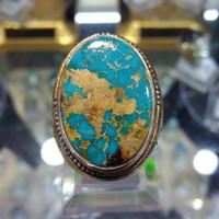 Batu Cincin Natural Pirus Persia kode 5