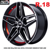 Velg Mobil Ring 14 - R15 R16 R17 R18 R19 R20 R22 HSR Wheel - HSR2000