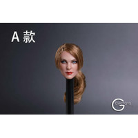 GACTOYS GC019A TBLEAGUE PHICEN EUROPEAN FEMALE HEADSCULPT BROWN HAIR