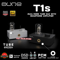 AUNE T1s / T 1s / T1 s Dual Mode Tube DAC with Headphone Amplifier